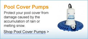 Pool Winter Cover pumps