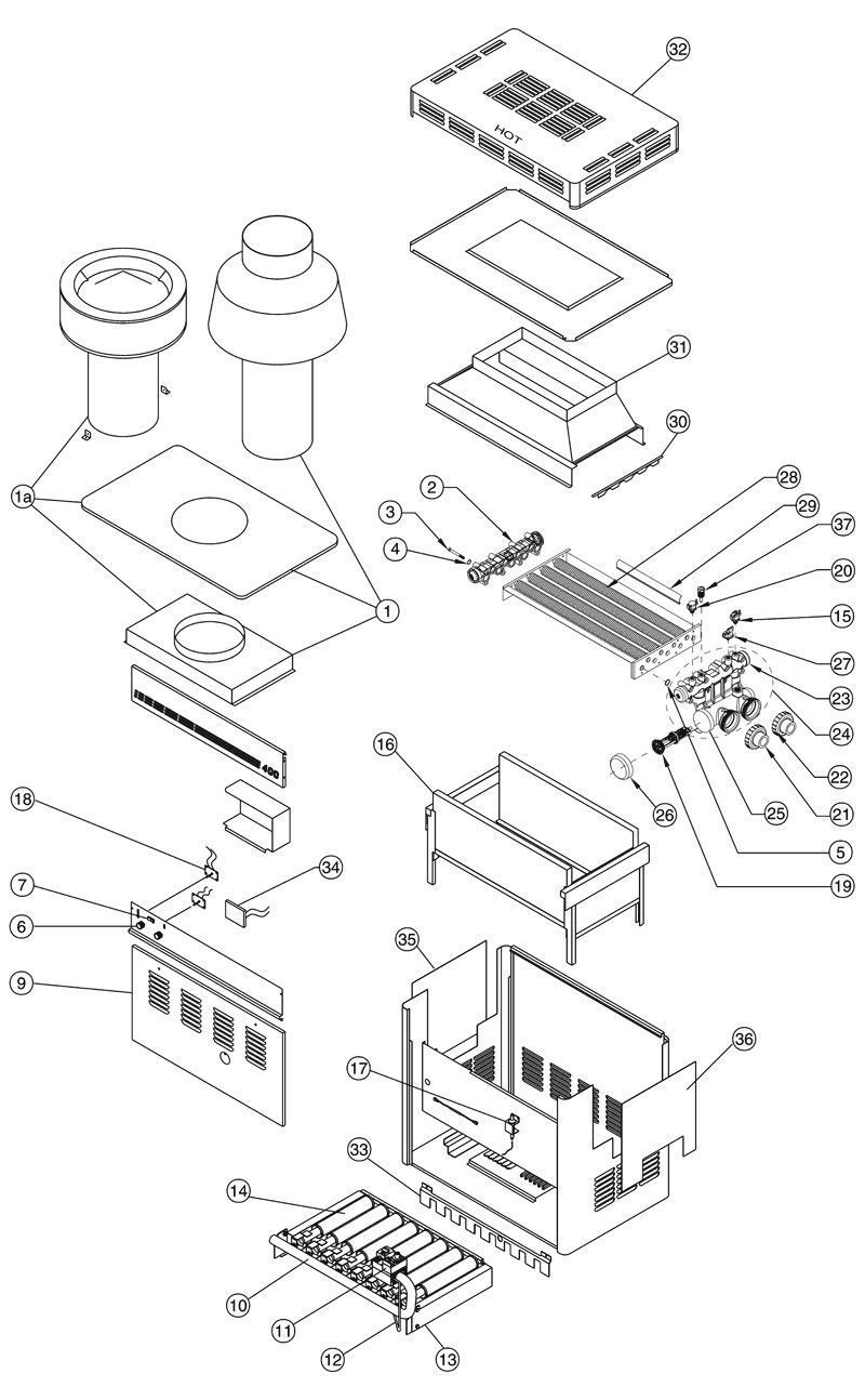 Pentair MiniMax CH Heater Schematic