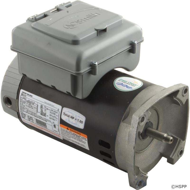 B2982t 56y Frame 1 Hp 2 Speed Pump Motors With Timers On