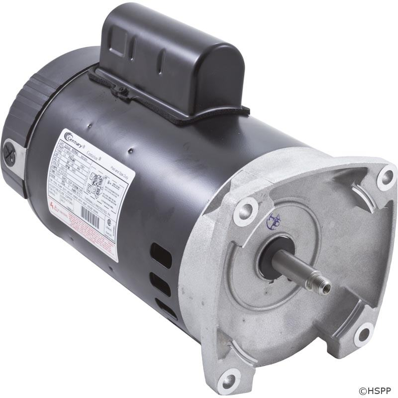B848 B2848 Pool Pump Motor 56y Frame 1 Hp Square Flange