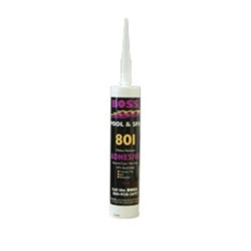 Boss 801 White Silicone Adhesive On Sale At Yourpoolhq