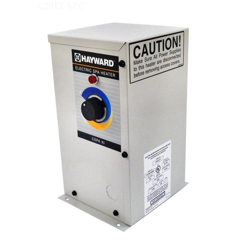 Hayward cspaxi11 11kw spa heaters on sale at yourpoolhq for Hayward electric swimming pool heaters